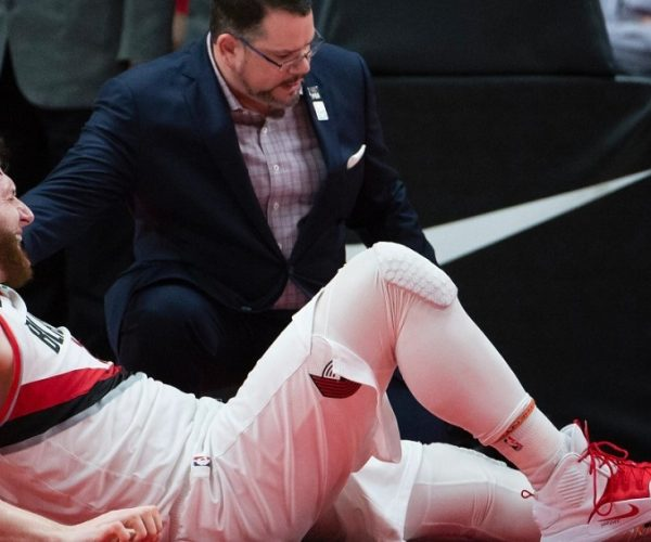 Berita Basket NBA | Gagal Debut Pascacedera, Jusuf Nurkic Angkat Bicara soal COVID-19.