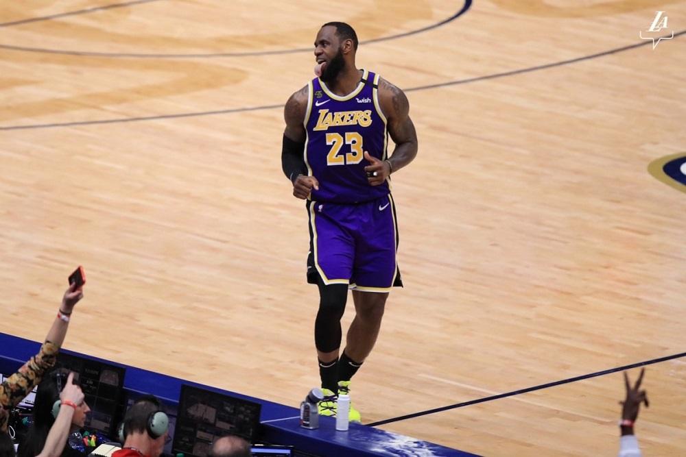 Berita Basket NBA | LeBron James Tripel-dobel, Lakers Bangkit.