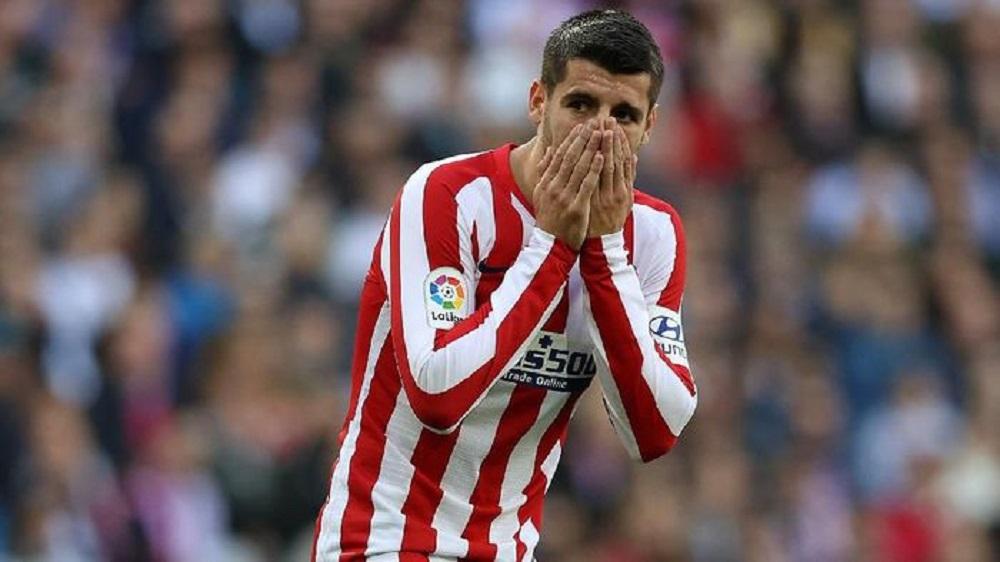 Berita Bola   Cedera Otot, Alvaro Morata Absen Enam Pekan.