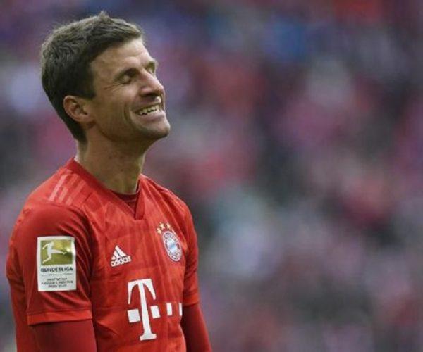 Berita Bola | Sepak Pojok Konyol Mueller di Laga Schalke 04 Vs Bayern.