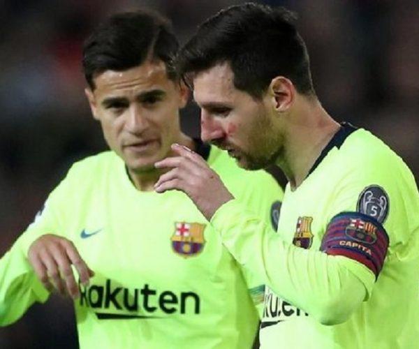 Berita Bola   Barcelona Kepayahan Satukan Messi dan Coutinho.