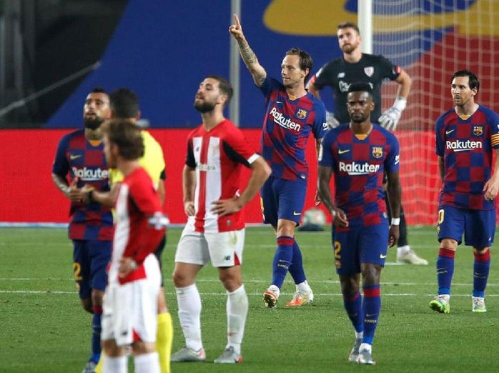 Berita Bola | Barcelona Vs Bilbao: Gol Tunggal Rakitic Menangkan El Barca.