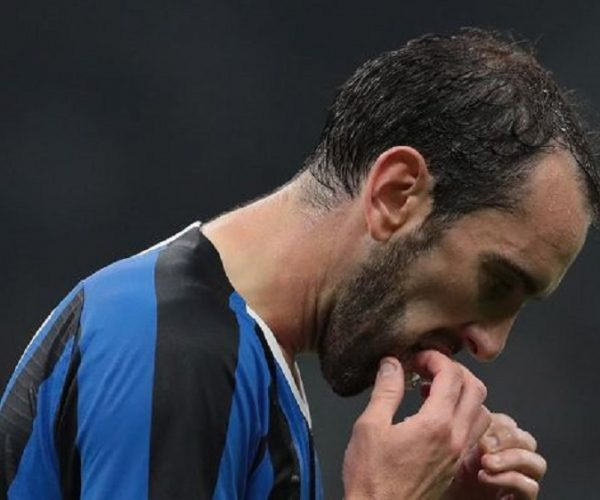 Berita Bola | Diego Godin Sedang Khawatir di Inter Milan.