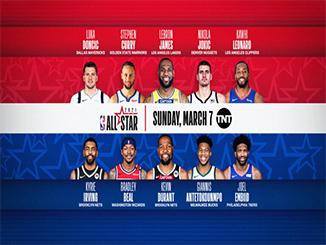 Berita NBA – Starter NBA All-Star 2021, Lebron James vs Kevin Durant.